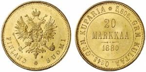 20 марок 1880 года