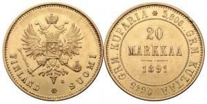 20 марок 1891 года