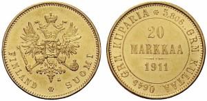 20 марок 1911 года - Золото