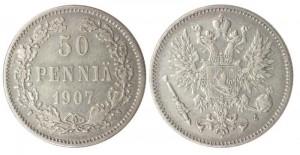 50 пенни 1907 года
