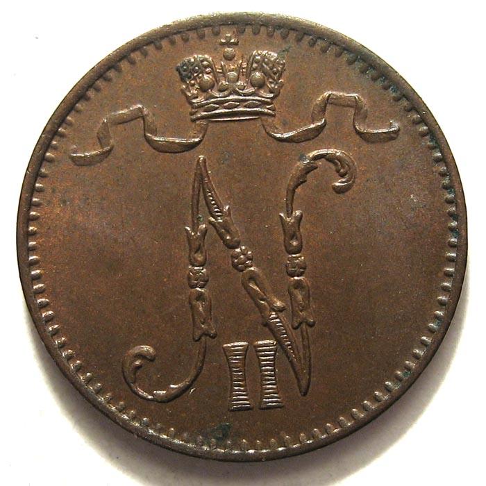 1 пенни 1902 года