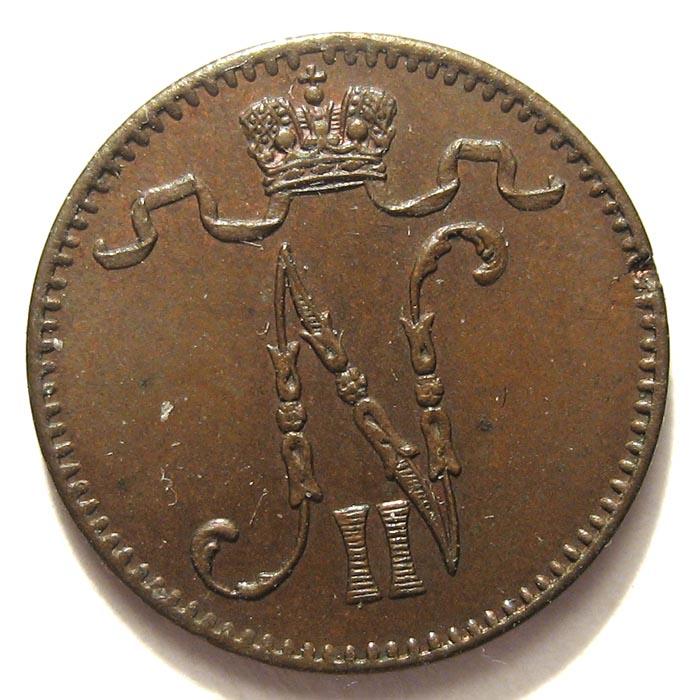 1 пенни 1904 года