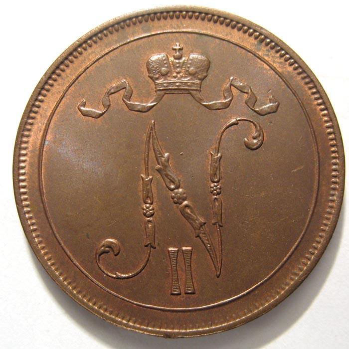 10 пенни 1905 года