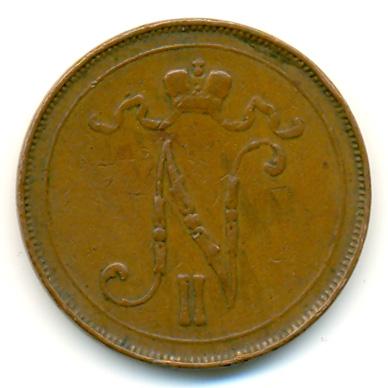 10 пенни 1909 года